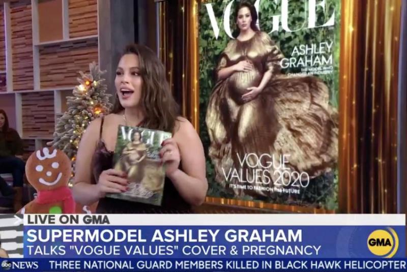 Look: Ashley Graham covers Vogue magazine amid pregnancy