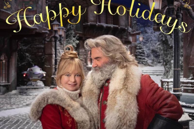 Look: Kurt Russell, Goldie Hawn return in 'Christmas Chronicles 2' photo