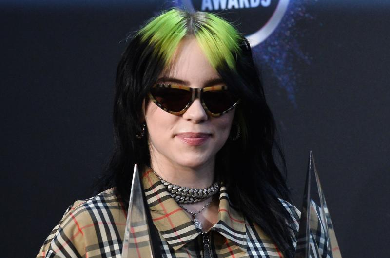 Billie Eilish, Harry Styles booked as BRIT Award performers